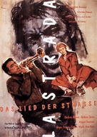 La strada - German Movie Poster (xs thumbnail)