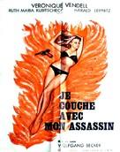 Ich schlafe mit meinem Mörder - French Movie Poster (xs thumbnail)