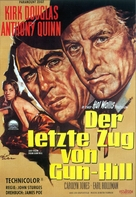 Last Train from Gun Hill - German Movie Poster (xs thumbnail)