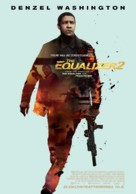 The Equalizer 2 - Finnish Movie Poster (xs thumbnail)