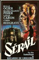 Sérail - French Movie Poster (xs thumbnail)