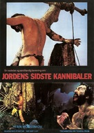 Ultimo mondo cannibale - Danish Movie Poster (xs thumbnail)