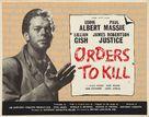 Orders to Kill - British Movie Poster (xs thumbnail)