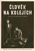 Czlowiek na torze - Czech Movie Poster (xs thumbnail)