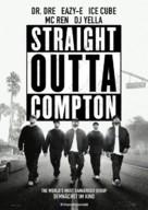 Straight Outta Compton - German Movie Poster (xs thumbnail)