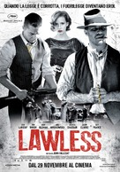 Lawless - Italian Movie Poster (xs thumbnail)
