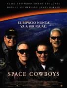 Space Cowboys - Spanish Movie Poster (xs thumbnail)