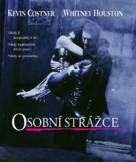 The Bodyguard - Czech Blu-Ray cover (xs thumbnail)