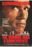 The Running Man - Brazilian Movie Poster (xs thumbnail)