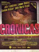 Cronicas - Mexican Movie Poster (xs thumbnail)