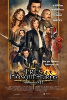 The Three Musketeers - Brazilian Movie Poster (xs thumbnail)