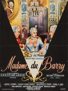 Madame du Barry - French Movie Poster (xs thumbnail)