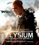 Elysium - French Movie Cover (xs thumbnail)