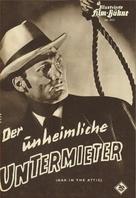 Man in the Attic - German poster (xs thumbnail)