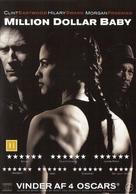 Million Dollar Baby - Danish DVD movie cover (xs thumbnail)