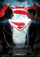 Batman v Superman: Dawn of Justice - Slovak Movie Poster (xs thumbnail)