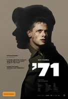 '71 - Australian Movie Poster (xs thumbnail)