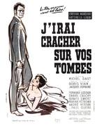 J'irai cracher sur vos tombes - French Movie Poster (xs thumbnail)
