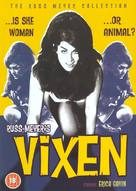 Vixen! - British DVD cover (xs thumbnail)
