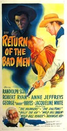 Return of the Bad Men - Movie Poster (xs thumbnail)