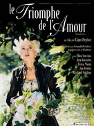 The Triumph of Love - French Movie Poster (xs thumbnail)