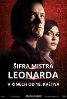 The Da Vinci Code - Czech Movie Poster (xs thumbnail)