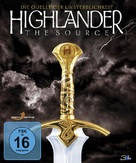 Highlander: The Source - German Blu-Ray cover (xs thumbnail)