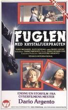 L'uccello dalle piume di cristallo - Danish VHS movie cover (xs thumbnail)