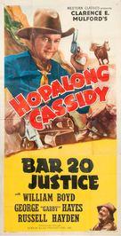 Bar 20 Justice - Movie Poster (xs thumbnail)