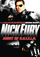 Nick Fury: Agent of Shield - DVD cover (xs thumbnail)
