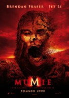 The Mummy: Tomb of the Dragon Emperor - German Movie Poster (xs thumbnail)