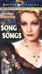 The Song of Songs - VHS movie cover (xs thumbnail)