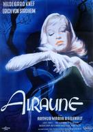Alraune - German Theatrical movie poster (xs thumbnail)