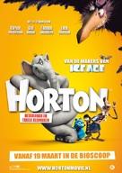 Horton Hears a Who! - Dutch Movie Poster (xs thumbnail)