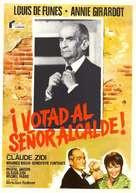 Zizanie, La - Spanish Movie Poster (xs thumbnail)