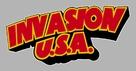 Invasion U.S.A. - German Logo (xs thumbnail)