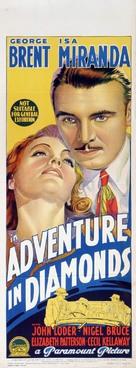 Adventure in Diamonds - Australian Movie Poster (xs thumbnail)