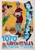 Totò al giro d'Italia - Italian Movie Poster (xs thumbnail)