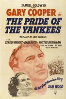 The Pride of the Yankees - Movie Poster (xs thumbnail)