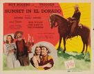 Sunset in El Dorado - Movie Poster (xs thumbnail)