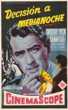 Night People - Spanish Movie Poster (xs thumbnail)