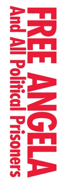 Free Angela & All Political Prisoners - French Logo (xs thumbnail)