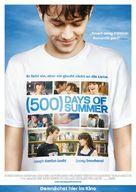 (500) Days of Summer - German Movie Poster (xs thumbnail)