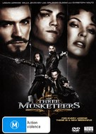 The Three Musketeers - Australian Movie Cover (xs thumbnail)