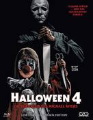 Halloween 4: The Return of Michael Myers - Austrian Blu-Ray cover (xs thumbnail)