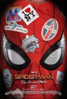 Spider-Man: Far From Home - Advance movie poster (xs thumbnail)