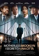Motherless Brooklyn - Italian Movie Poster (xs thumbnail)