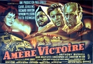 Bitter Victory - French Movie Poster (xs thumbnail)