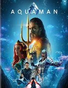 Aquaman - Romanian Blu-Ray cover (xs thumbnail)