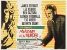 Anatomy of a Murder - British Movie Poster (xs thumbnail)